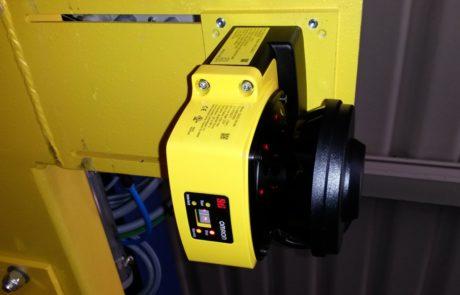 Laser scanner di sicurezza, zone multiple di sicurezza